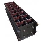 Формы для производства пазогребневых пеноблоков