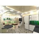 Дизайн итерьера 350 руб.  м/кв.