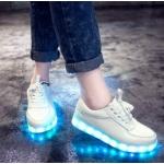 Кроссовки со светящейся подошвой 34-44 р-р