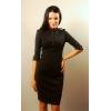 Черное платье Victoria Beckham.  Осень-зима 2012/2013