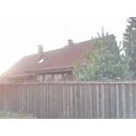 Киевское шоссе,  20 км от МКАД,  д.  Уварово,  дом 180 кв. м. ,  на берегу реки Десны,  участок 9 соток,  сосны,  туи,  садовые