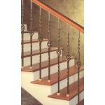 Маршевые лестницы из дерева в Домодедово на бетоне