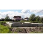Продается участок земли с фундаментом 23км от МКАД