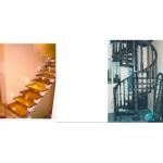 Установить деревянные лестницы в Реутове,  в Москве,  в Московской области  под ключ