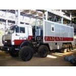 Подъемник исследования нефтегазовых скважин на шасси Камаз 4310 ГИС
