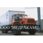 Подъемник исследования нефтегазовых скважин на шасси Урал 4320