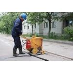 Мастика горячего применения для ремонта асфальта