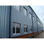 Однопролетное складское здание из легких металлических конструкций (ЛМК)