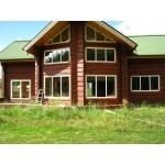 Изготовление и монтаж деревянных окон из сосны,   лиственницы и дуба.